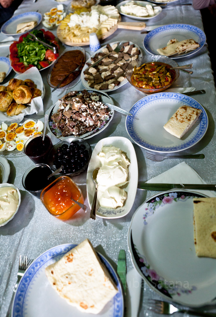 local reakfast, Kars, Tuba Şatana