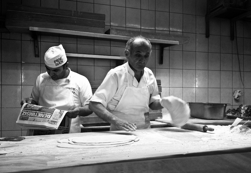 making of pide, Pideban, by Tuba Şatana